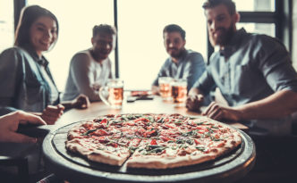 Datafiniti used its Business Data to analyze over 3,500 pizzas to determine the number of restaurants and pizzerias serving pizza per 100,000 residents by state.